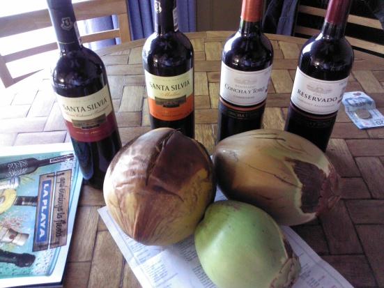 wine & coconuts